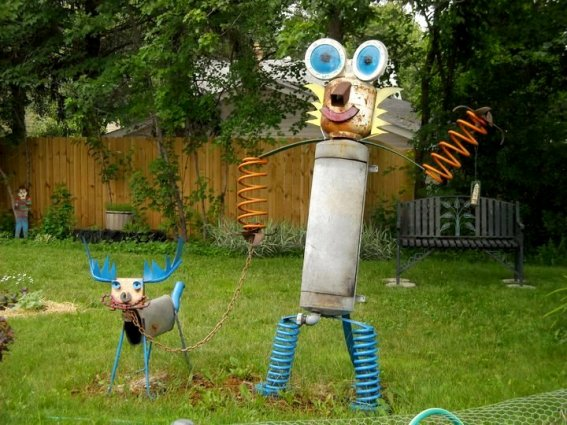 Mary Olson's son made these minions,...before minions were cool