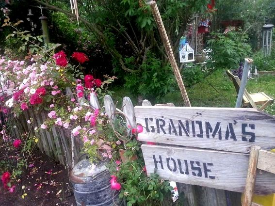 My house is Grandma's house!