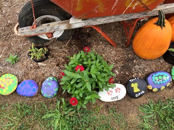 Gerrie's junk-filled Farmers Market garden