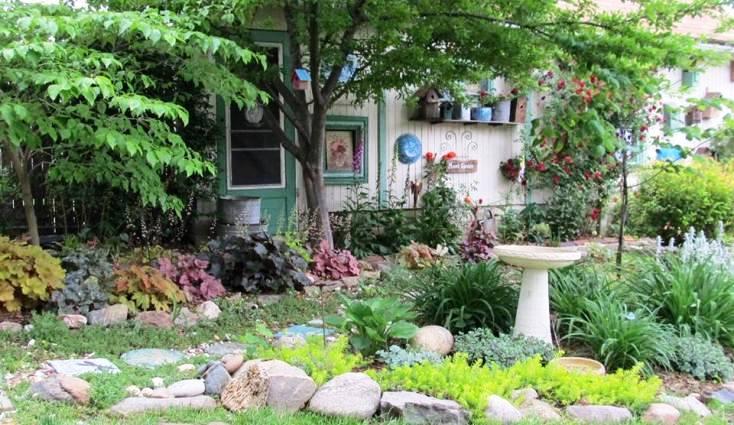 Vickie Badders Randolph A snapshot of my Flea Market garden