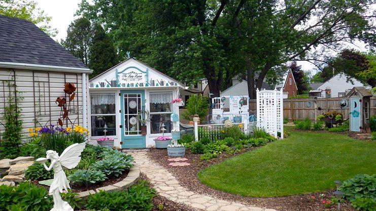 Ann Elias's garden