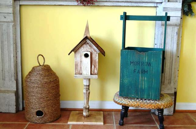 Christy Morrow's bee skep