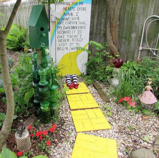 My Wizard of Oz Garden