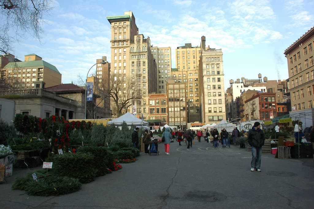 Union Square Greenmarket - (c) by Flatbush Gardener