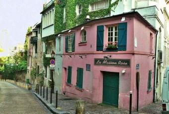 Bute Montmartre Paris (c) Julie Kertesz