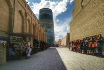Market in Khiva (Uzbekistan)