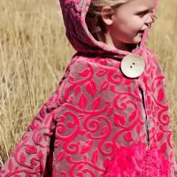 How to make a Child Cape or Car Seat Poncho {free pattern}