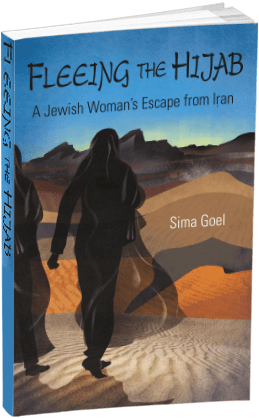 Fleeing the Hijab paperback cover
