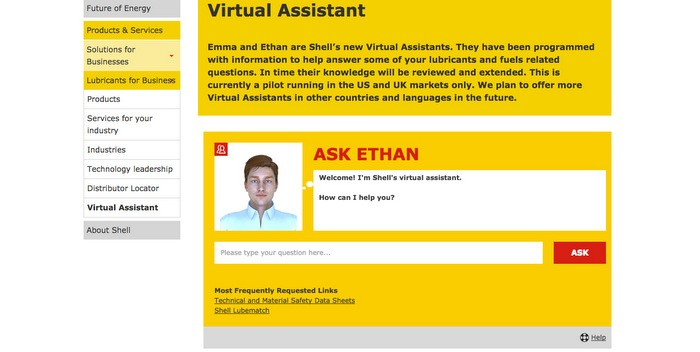 Shell Virtual Assistant