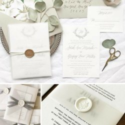 Small Crop Of Pictured Wedding Invitations