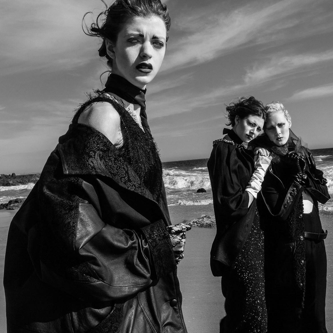 The Salty Sea Behind the Eyes FLESH Magazine Photo Alejandro Cabezut Akii Sara Robey Julia Savitskaya