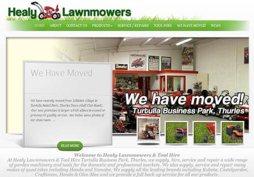 John Healy Lawnmowers