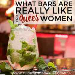 What Bars Are Really Like For Queer Women