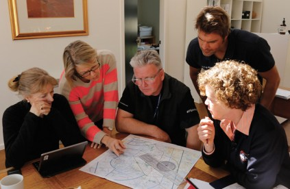 Day 1—Bathurst—Set-up and pre-flight planning