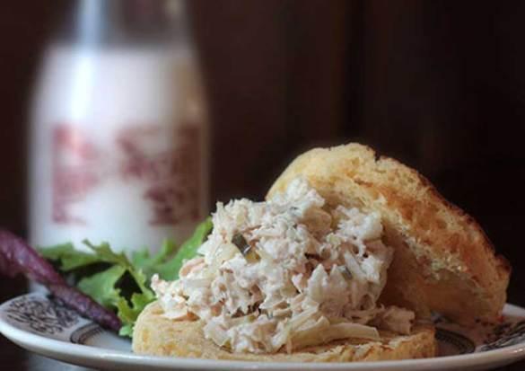 Sauerkraut Tuna Salad