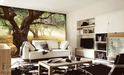 Contemporary wallpapers for your rooms | Home Designs Project