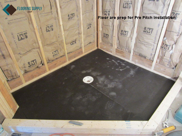 Quick Pitch Shower Pan