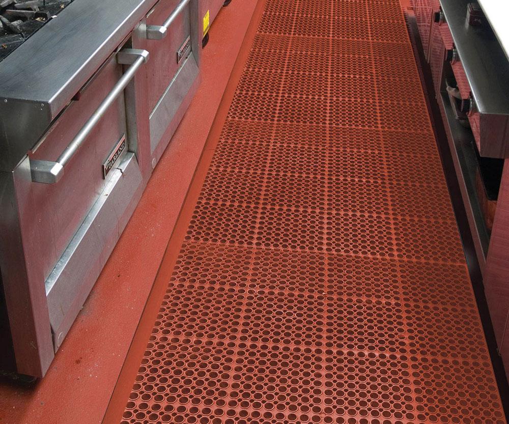 AP T11 San Eze Anti Fatigue Kitchen Floor Mat kitchen floor mats San Eze II Anti Fatigue Kitchen Mat Wet Area 7 8