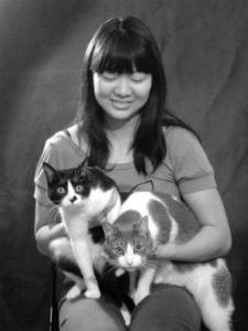 Cathy Peng and Her Kitties