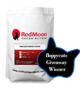 Extra October Giveaway: Free 7lb. Bag Of RedMoon Custom Pet Food!
