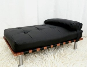Modern pet day bed and lounger $130.00