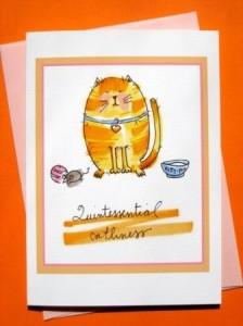 Quint Cat Card