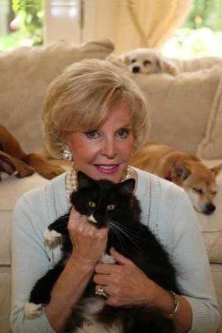 Sonya Fitzpatrick and her kitty, Moonbeam
