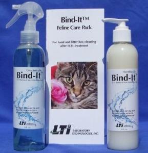 Bind-It Feline Packet for Radioactive Iodine Treats Hyperthyroid Cats
