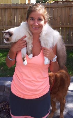 How to Hold a Ragdoll Kitten around your neck