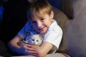 Matthew, my 7 yr. old grandson and Ocean