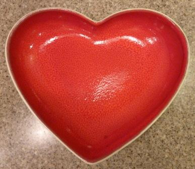 Greenfields Care Heart Shaped Bowl