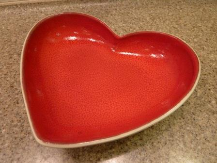 Greenfields Care Heart Shaped Bowl2