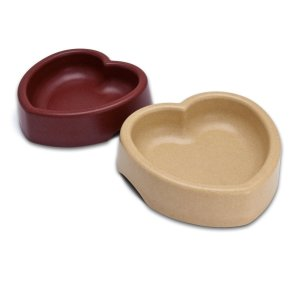 Loving Pets Heart Shaped Bamboo Bowl for Cats Review