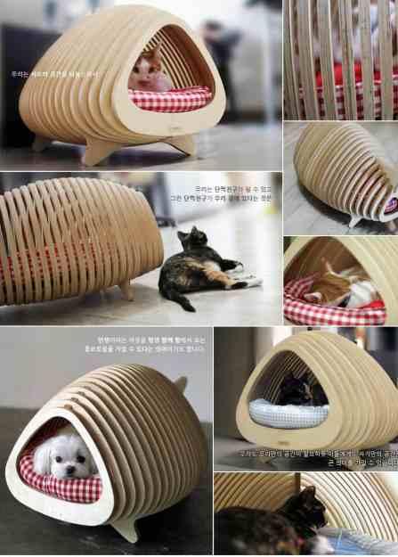 Fish Shaped Cat Bed by Korean designer Sang Nam-Park 5
