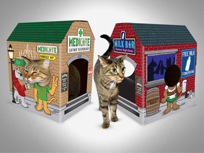 MEOWSES Awesome Cat Houses 2