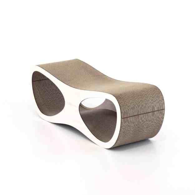 Miglio Design Doppio Cat Scratcher Lounge Grande