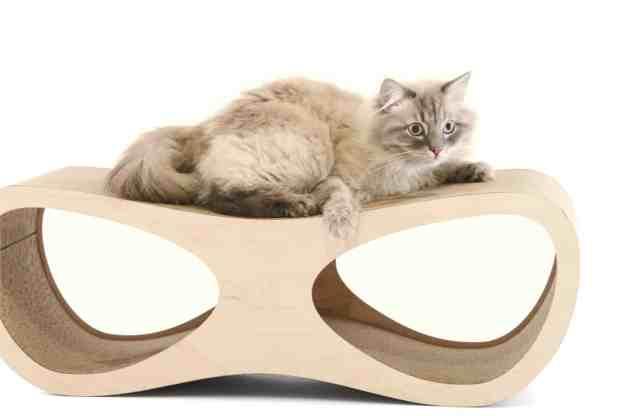 Miglio Design Doppio Cat Scratcher LoungeMiglio Design Doppio Cat Scratcher Lounge