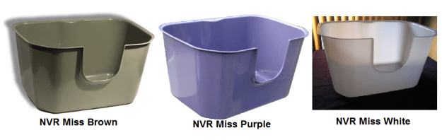 NVR Miss Brown Purple White