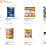 Cat Products Best Seller List on Amazon May 2015