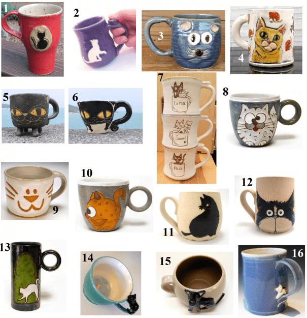 Cat Coffee Mugs – Cat Tea Cups on Etsy