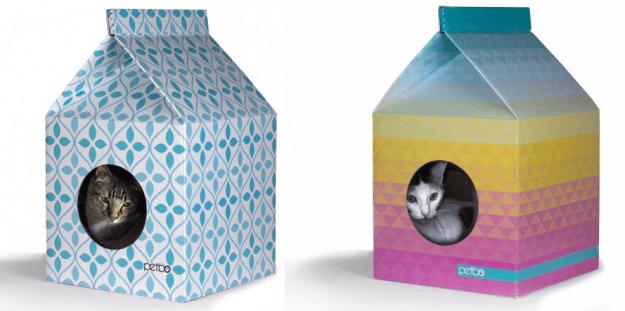 Petbo Designer Cat House Flower and Pride