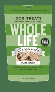 Whole Life Pet Treats Duck Freeze Dried Treats
