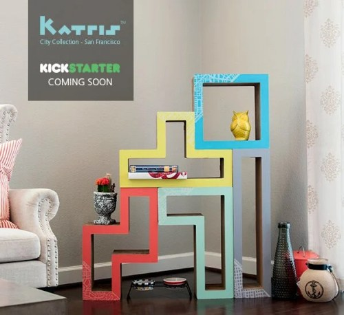 Katris Cardboard Cat Furniture Kickstarter Campaign City Collection