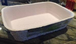 WonderBox Disposable Litter Box and Liner