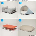 Designer Cat Beds from HOWLPOT