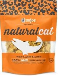 Sojos NaturalCat Salmon Cat Treats