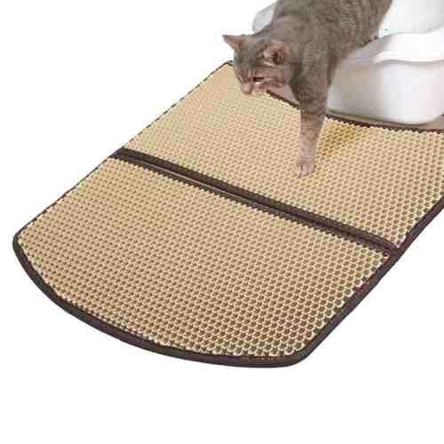 WooPet Cat Litter Mat Large Scatter Control Kitty Litter Mats for Cats Tracking Litter Out of Litter Box