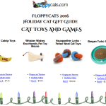 Announcing Floppycats 2016 Holiday Cat Lover Gift Guide!