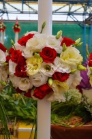 lumanari nunta arad multicolorata