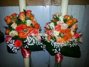 lumanari nunta arad trandafiri portocalii 1